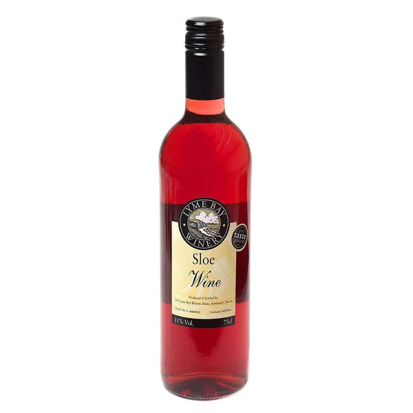 Just Miniatures:Lyme Bay Sloe Wine - 75cl