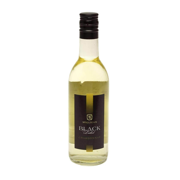 Just Miniatures:McGuigan Black Label Chardonnay White Wine Miniature - 18.75cl,Miniature Drinks
