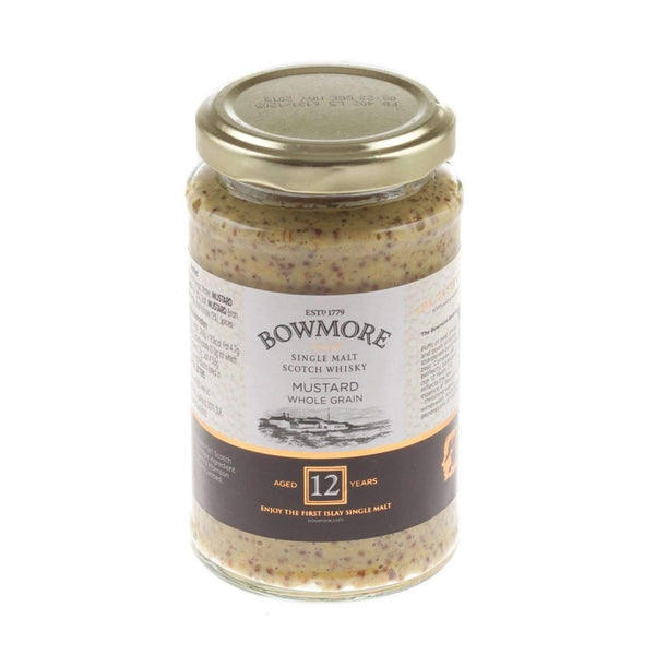 Just Miniatures:Mustard with The Bowmore Whisky - 200g