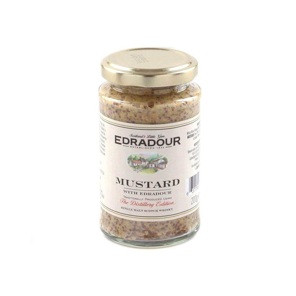 Just Miniatures:Mustard with The Edradour Whisky - 200g