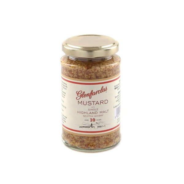 Just Miniatures:Mustard with The Glenfarclas Whisky - 200g