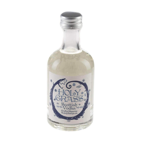 Just Miniatures:Rock Rose Holy Grass Scottish Vodka Miniature - 5cl,Miniature Drinks