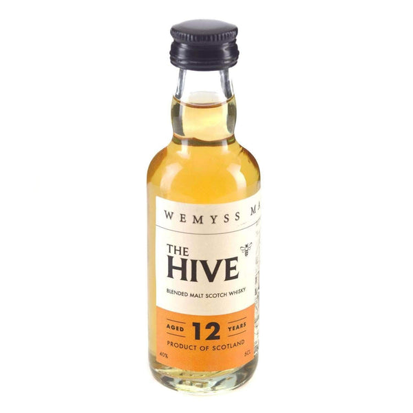 Just Miniatures:The Hive 12 year Blended Malt Scotch Whisky Miniature - 5cl,Miniature Drinks