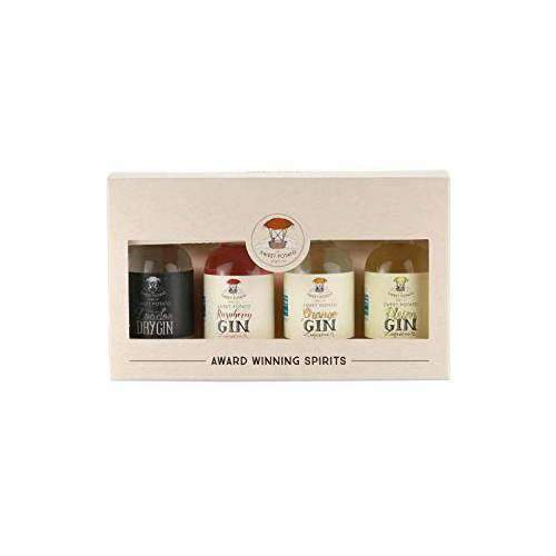 Just Miniatures:The Sweet Potato Gin Selection Miniature Gift Pack - 4 x 5cl