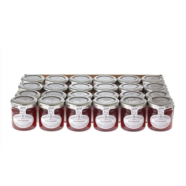 Just Miniatures:Wilkin & Sons Tiptree Strawberry Preserve Mini Jar - 42g (24 Pack)