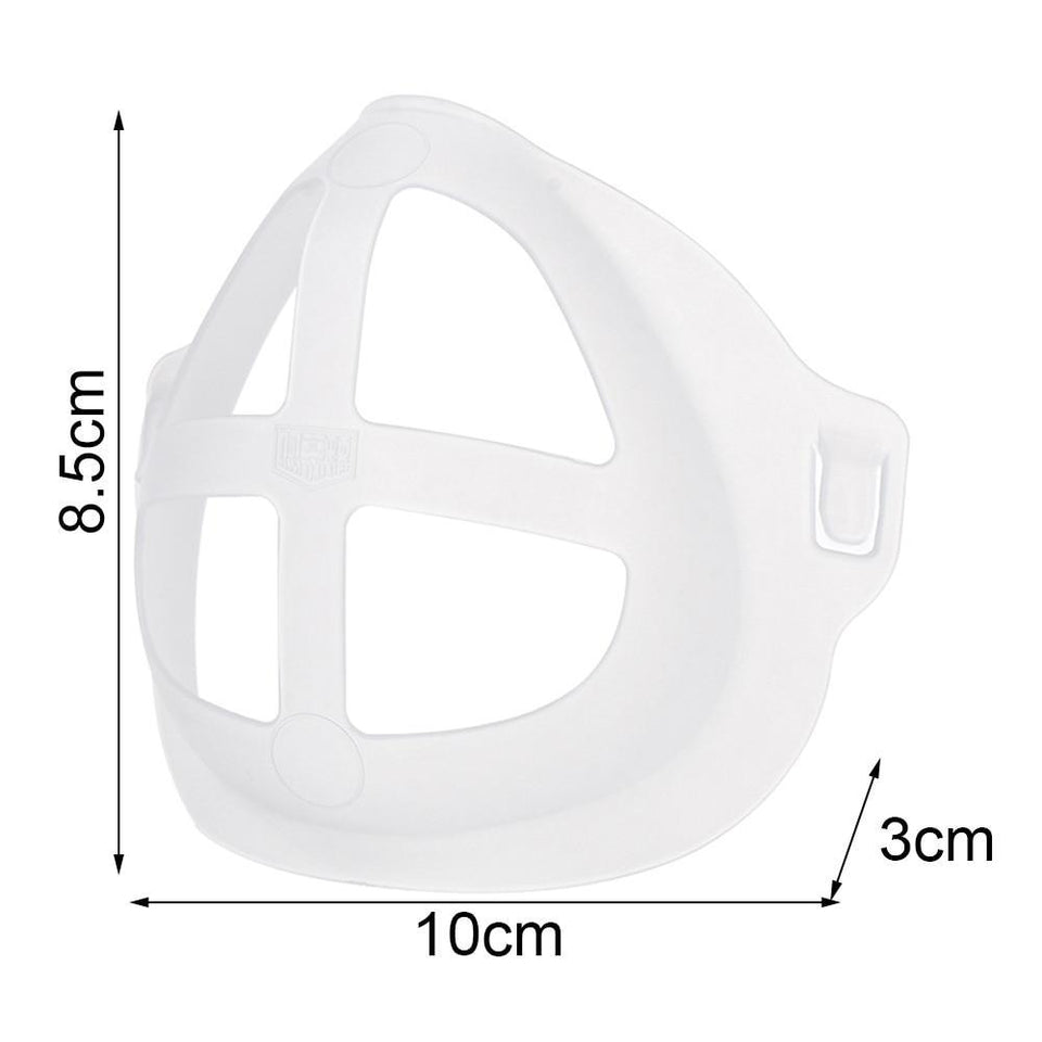 5 PCS Anti-Germ Comfortable Breathing Bracket with FREE Faceguard Buckle Band