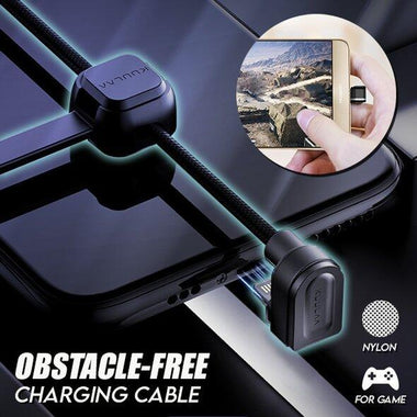 Obstacle-Free Charging Cable