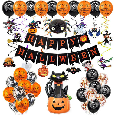 Halloween Balloon Decorations