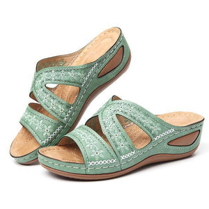 Women Non-slip Comfortable Floral Sandals