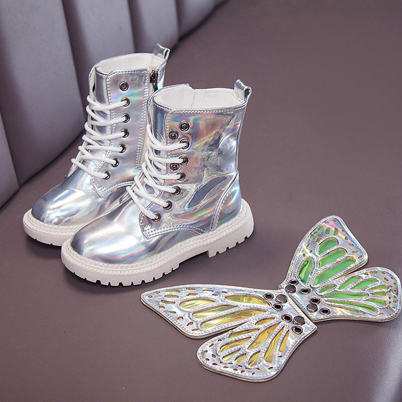 Angel Wings Martin Boots