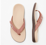 2020 New Vionic Thong Sandals with Buckle Detail