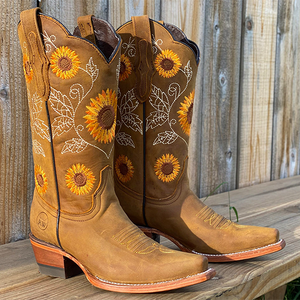 🌻Square Toes Sunflower Boots Final Sale🌻