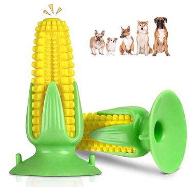 Corn sucker sounding dog toy puppy dog molar stick