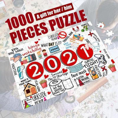 Christmas Jigsaw To 2021
