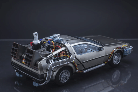 🚗FREE SHIPPING🚗Back to the Future Ⅱ™ DeLorean Time Machine