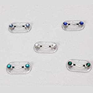 WIGONES MIni Portable Magnetic Clip-On Pin for Eyeglass/Earburd Wire