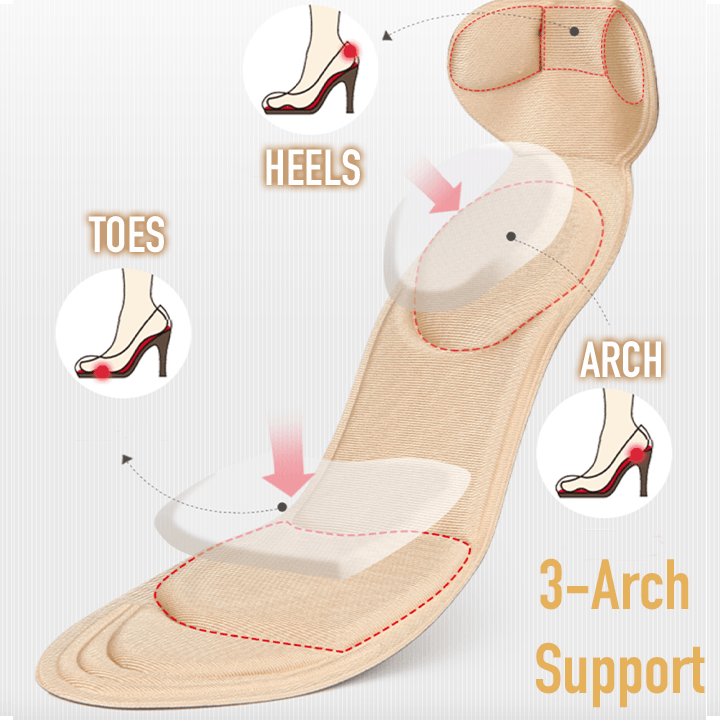 4D Ultra-Support Anti-Stress Insoles