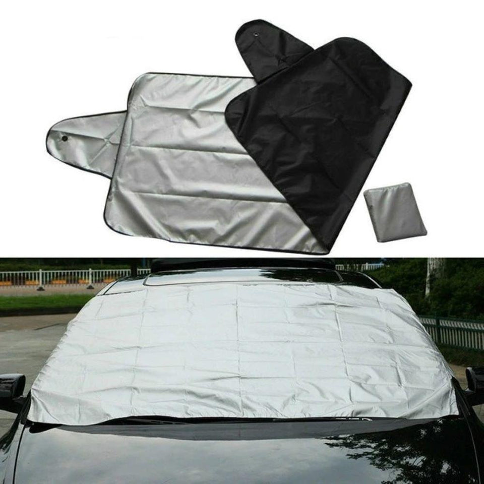 (🎅Early-Christmas Hot Sale-50%OFF) Premium Windshield Snow Cover Sunshade--Buy 2 Free Shipping