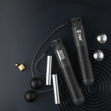 Weighted Smart Digital Jump Rope For Easy Full-body Workout