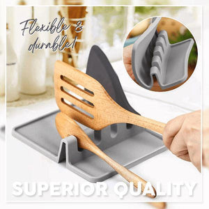 Heat-Resistant Utensil Rest (50% OFF)