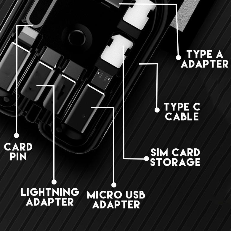 Survival Multi-functional Universal Smart Adaptor Card