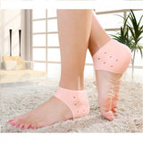 Fix Heel/Ankle pain. Plus get rid of cracked heels (Set of 4pcs) - Premium Quality