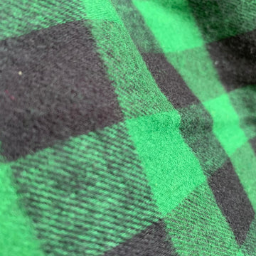 Flanella green check