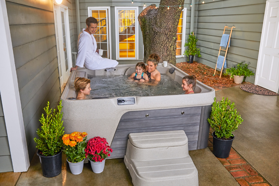 $4,500+ – Freeflow Spas