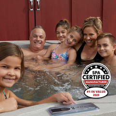 Thanks for letting us know how you feel about your new hot tub!