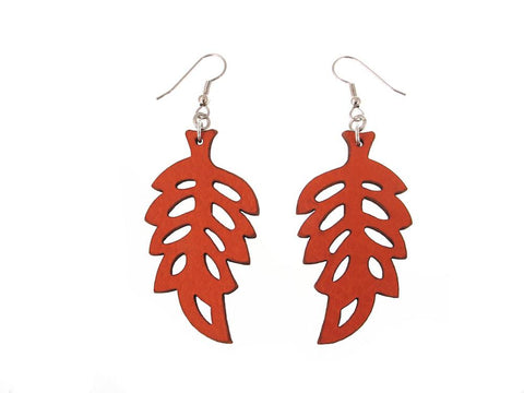 Fern Pattern Earrings