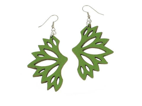 Fan Pattern Earrings