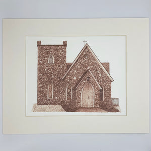 Milford Church Print