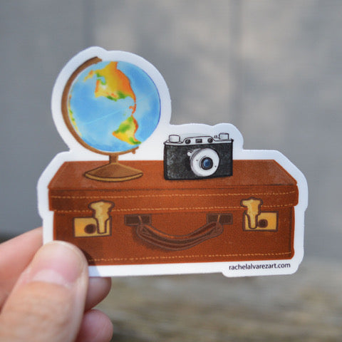 Adventure Camera Mini Decal