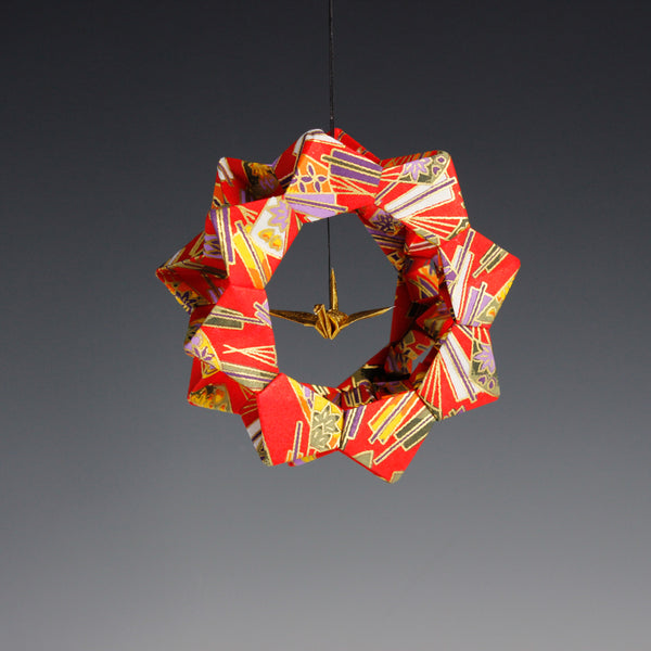 Crane Wheel Ornament