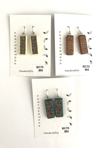 Medium Pixels Earrings