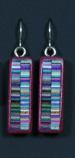Medium Bezeled Earrings
