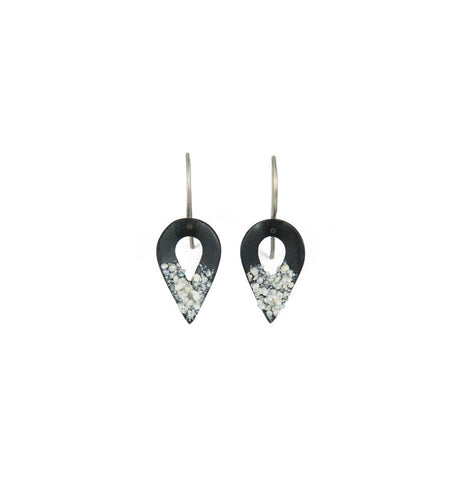 Reverse Teardrop Earrings