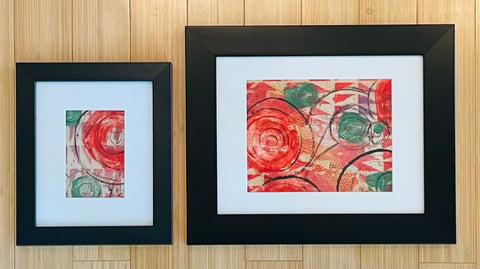 Set of 2 Monoprints