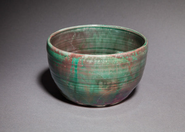 Copper Green Lustre Bowl - Small