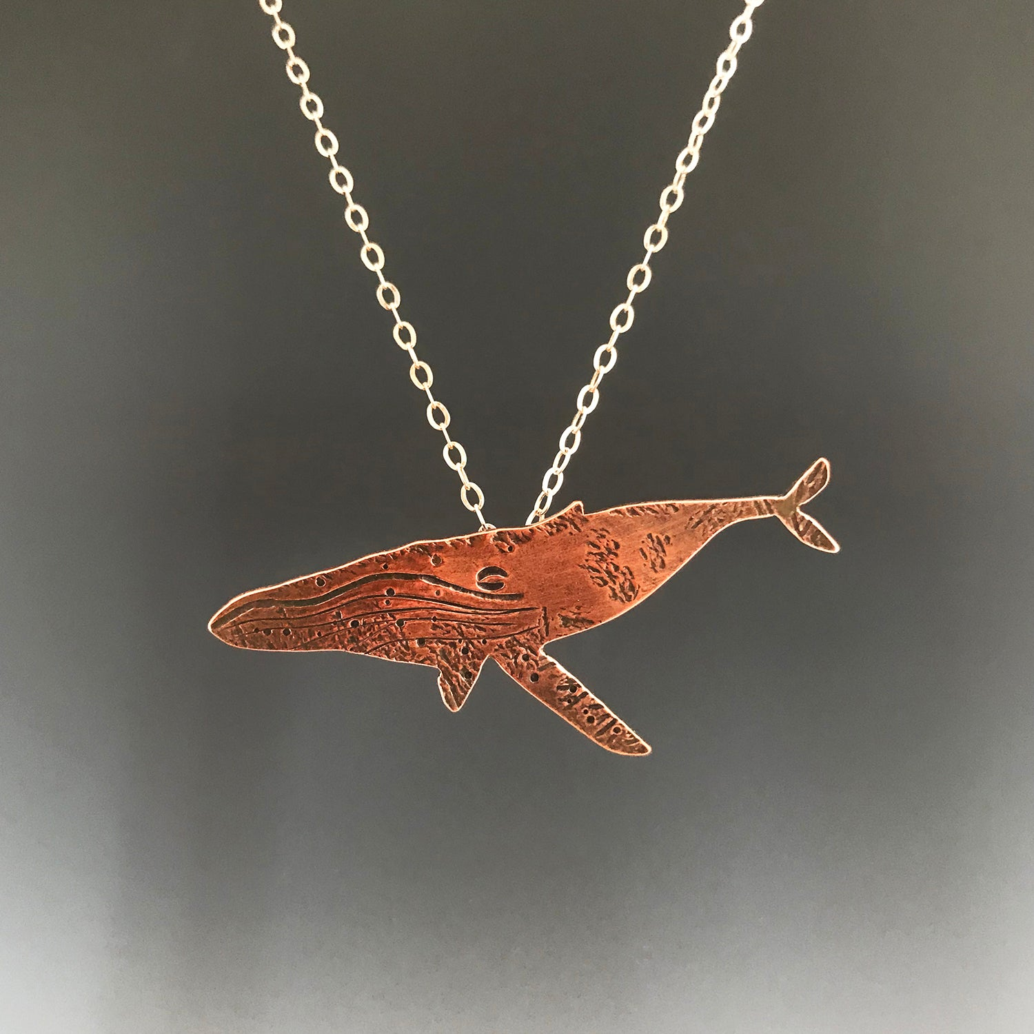 Familiars Animal Necklace - Whale
