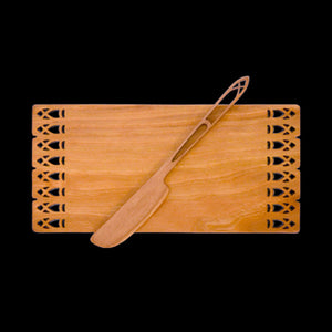 Butter Board and Spreader Set - Gallery Design