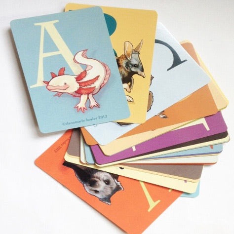 Underappreciated Animal Flash Card Set