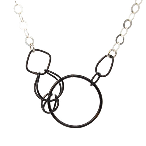Integral Ring Necklace