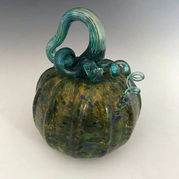 Glass Pumpkin - Small/Medium