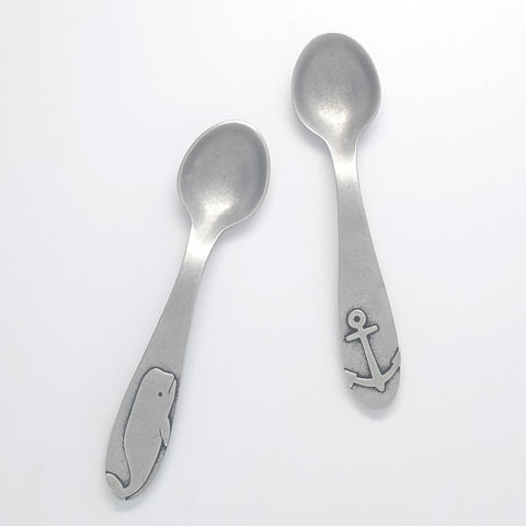 Baby Spoon Set - Whale and Anchor