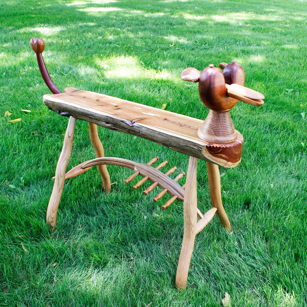 Toots Dog Bench