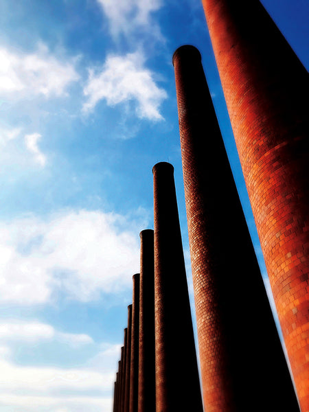 Homestead Steel Works: Smokestacks