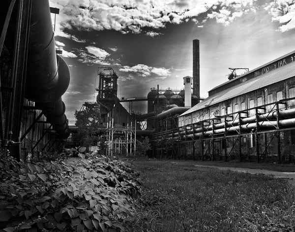 Carrie Furnace: Sunlight