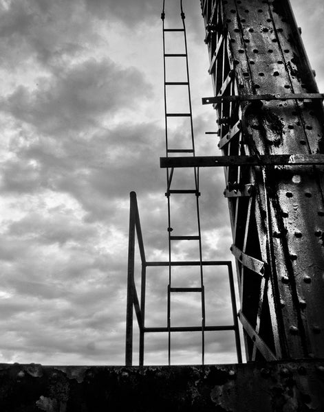 Carrie Furnace Hot Metal Bridge: Ladder