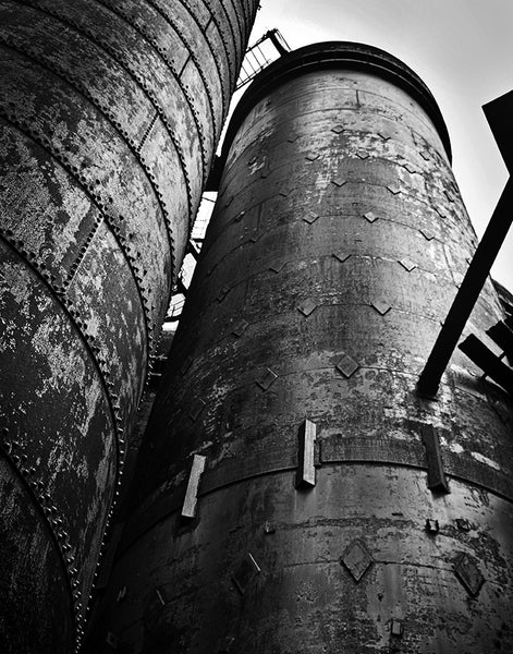 Carrie Furnace: Smokestacks